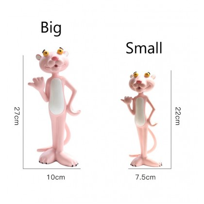Lovely Pink Panther Collectible Figurine Home Decor Gifts