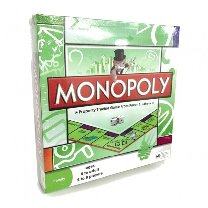 Scrabble Board Game Crossword Card Game and Monopoly Games Playing