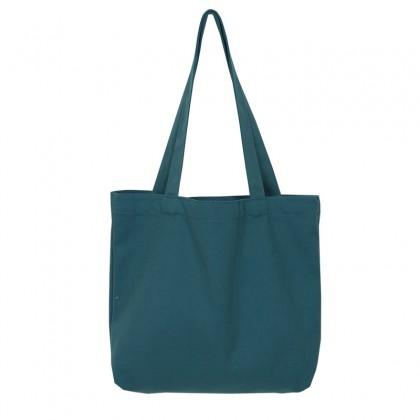 G-Fashion Minimalist Cotton Tote Bag / Sling Bag For Shopping Grocery School ; Plain Colors ; Beg Tangan Fesyen Warna