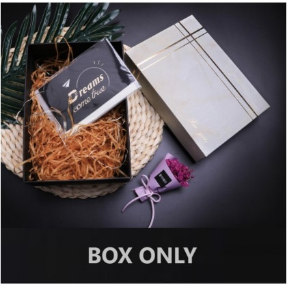 G-Friends Premium Small Gift Box Packaging Boxes Hard Cover & Paper for Watch Jewelry Wallet Gifts ; Kotak Hadiah Keras