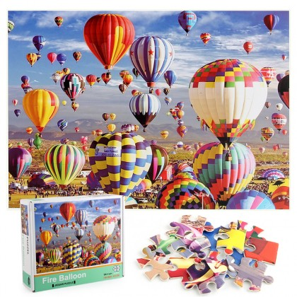 1000 Pcs Puzzle Small Pieces Big Picture Jigsaw for Kids &  Adults Unicorn Ocean View Village Scene New Normal Stay Safe