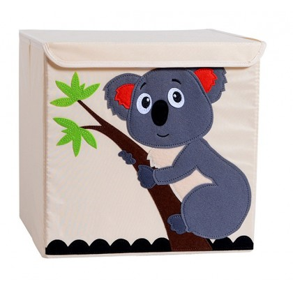 Lovely Gifts Toys Storage Box, Game Box, Container Basket with cover ; Kotak Tempat Baju Mainan